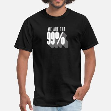 99 Cents 99 per cent - wall street - Men's T-Shirt