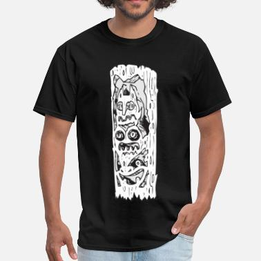 Totem Pole Totem Pole - Men's T-Shirt