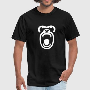 Gorilla Face - Men's T-Shirt