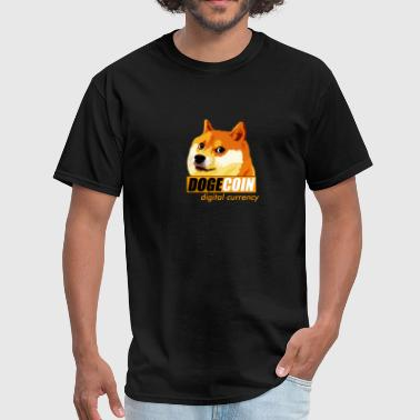 Dogecoin Digital Currency - Men's T-Shirt