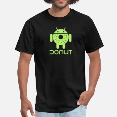 Android Open Source Droid Donut 1 - Men's T-Shirt