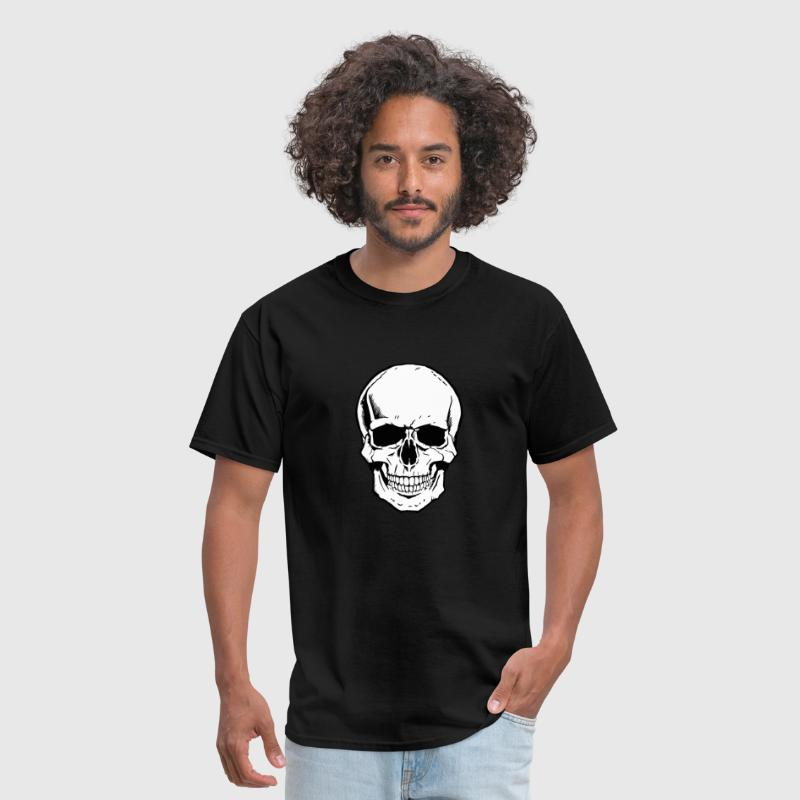 skeleton face - Men's T-Shirt