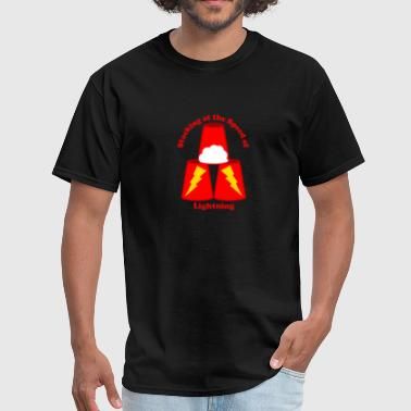 Sport Stacking: Stacking at the Speed of Lightning - Men's T-Shirt