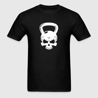 Skull Kettlebell Cross Fit - Men's T-Shirt