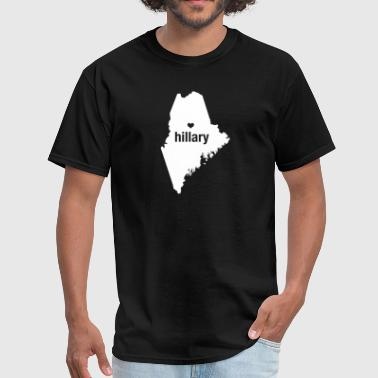 Maine Loves Hillary Clinton - Men's T-Shirt