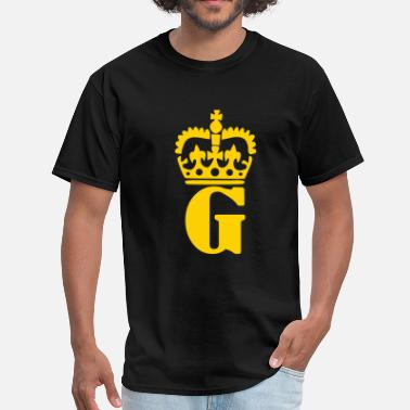 Garrett Crown - G – Name - Men's T-Shirt