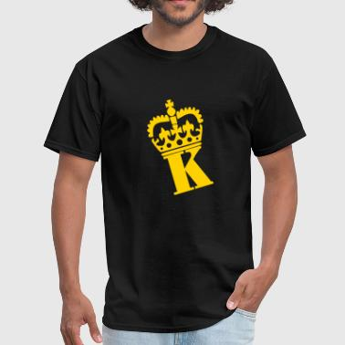 Crown - K – Name - Men's T-Shirt