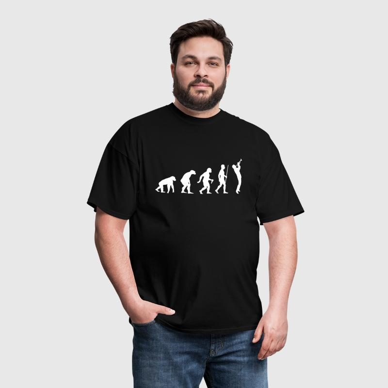 Evolution of Trumpet - Men's T-Shirt