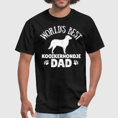 Kooikerhondje Dog Owner Cool Dog Dad Gift Idea - Men's T-Shirt