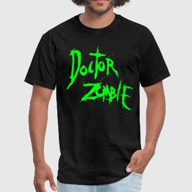 DOCTOR ZOMBIE LOGO GREEN - Men's T-Shirt