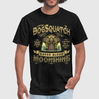 Bogsquatch Moonshine - Men's T-Shirt