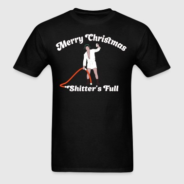 Cousin Eddie - Shitter's Full! - Men's T-Shirt