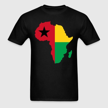 Guinea Bissau Africa Map - Men's T-Shirt