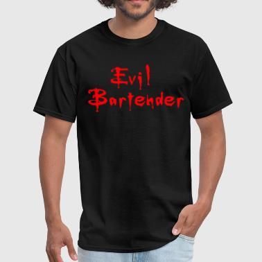 High Bar EVIL BARTENDER All Sizes High Quality Bar Wear bar - Men's T-Shirt