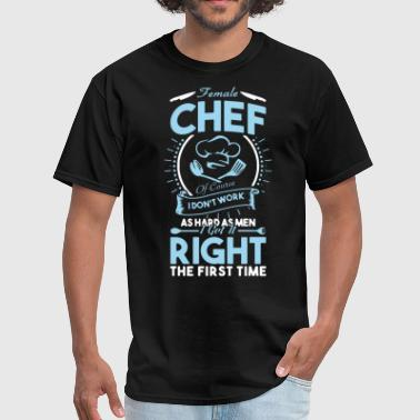 Swedish Chef female chef - Men's T-Shirt