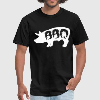 Bbq Party Quotes Pig BBQ Love Summer Cookout Grill Cow Steak Party - Men's T-Shirt