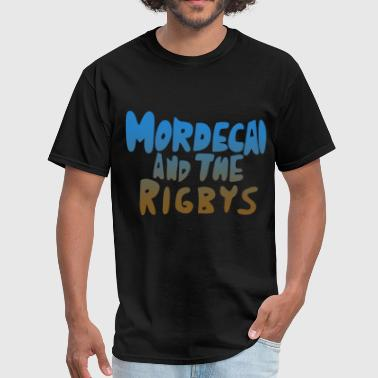 Mordecai mordecai and the rigbys hipster - Men's T-Shirt