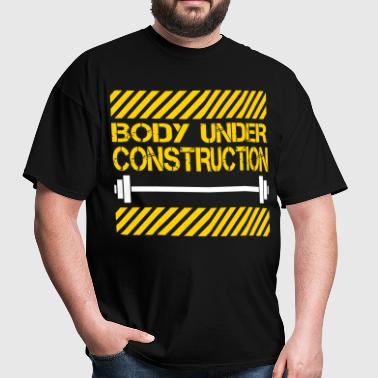 Body under construction - Men's T-Shirt