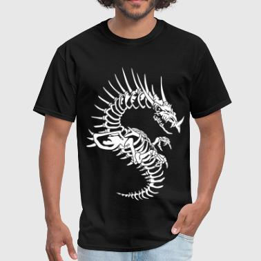 Dragons Skull Dragon skeleton - Men's T-Shirt