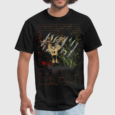 tiger t shirt design - tigers in jungle animal - Men's T-Shirt