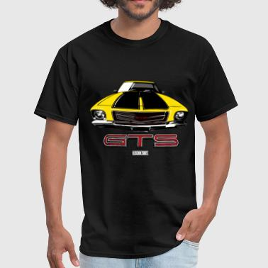 HQ GTS FRONT Yellow - Men's T-Shirt