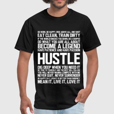 HUSTLE - Men's T-Shirt