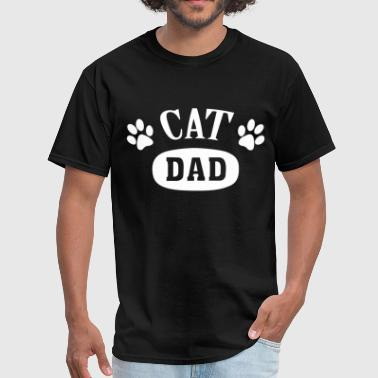 Cat DAD - Men's T-Shirt