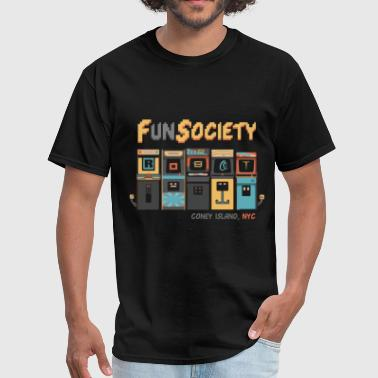 fsociety | fun society | mr. robot - Men's T-Shirt