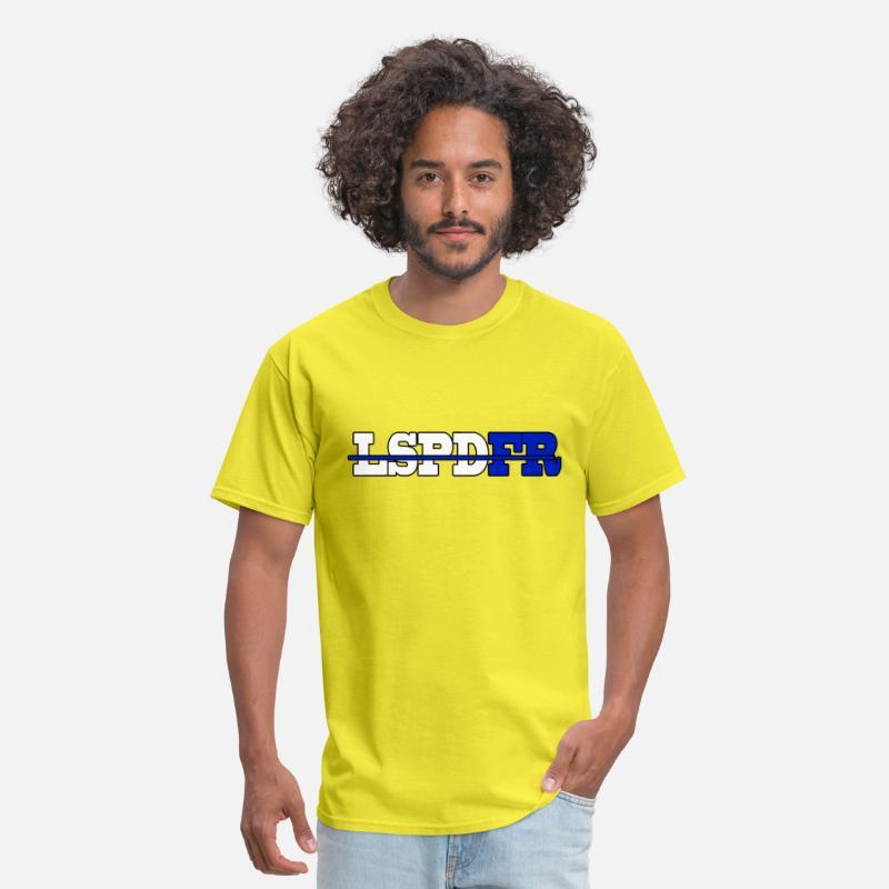 LSPDFR Shirt Men's T-Shirt - yellow