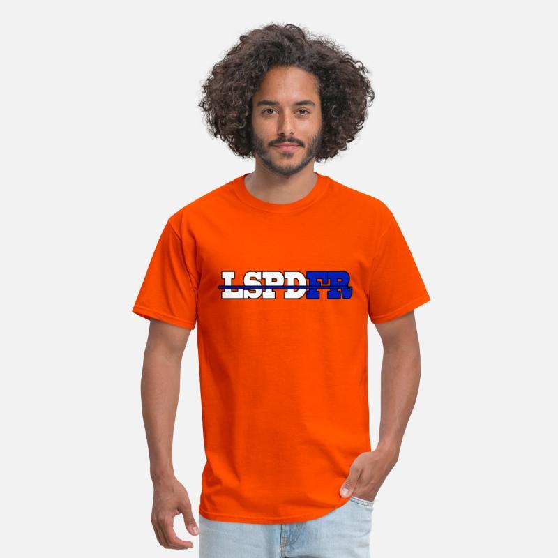 LSPDFR Shirt Men's T-Shirt - orange
