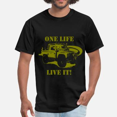 Land Rover One Life - Live It! - Men's T-Shirt
