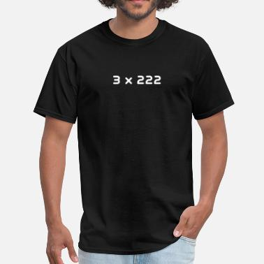 Equals 3 3 x 222 - Men's T-Shirt