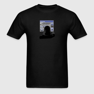 darth vader spacebook - Men's T-Shirt