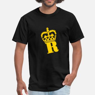 King Ryan Crown - R – Name - Men's T-Shirt