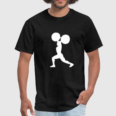 Weightlifter silhouette - Men's T-Shirt