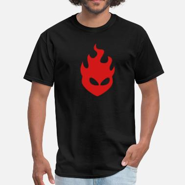 Arsonists Fire Head 1c - Men's T-Shirt