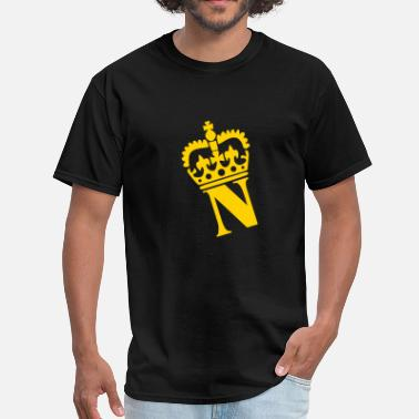 Letter N Crown - N – Name - Men's T-Shirt