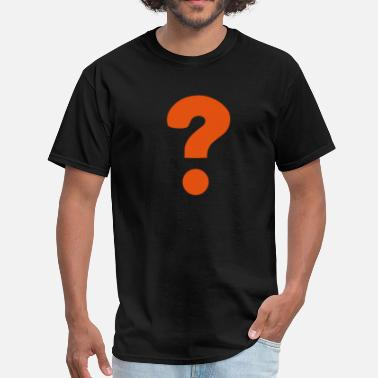 Question Question Mark / ? - Men's T-Shirt