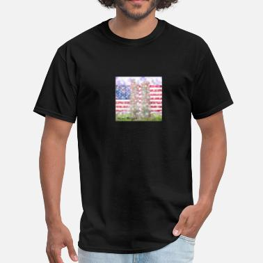 9 11 9/11 Never Forget Tribute - Men's T-Shirt