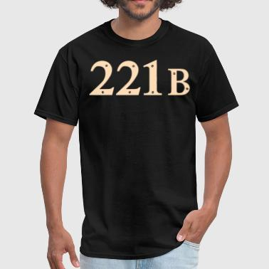 221b Baker Street - Men's T-Shirt