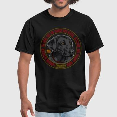 Therapy Dogs labrador_since_1903_b - Men's T-Shirt