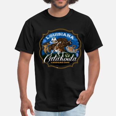 Hog catahoula_louisiana - Men's T-Shirt