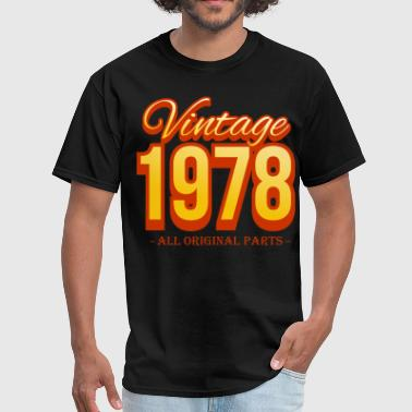 vintage 1978 all original parts - Men's T-Shirt