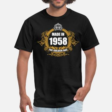1958 Aged To Made in 1958 The Golden Age - Men's T-Shirt