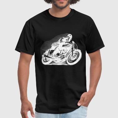 Vintage Motorcycle t-shirt - Racer | Motorcycleshi - Men's T-Shirt