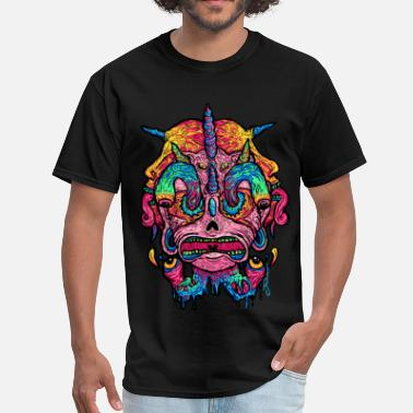 Trippy Psychedelic Monster Series: Spectrophobia - Men's T-Shirt
