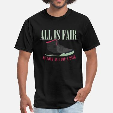 Yeezy Bred All is Fair Yeezy Design - Men's T-Shirt
