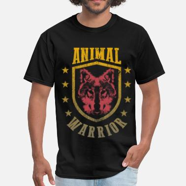 Animal Warrior Animal Warrior Wolf - Men's T-Shirt