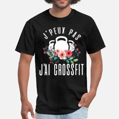 Fuck Crossfit J peux pas Jai crossfit - Men's T-Shirt