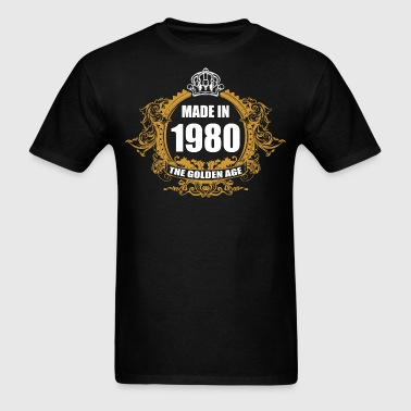 Made in 1980 The Golden Age - Men's T-Shirt